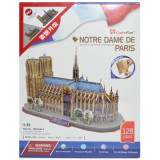 Puzzle 3D Notre Dame, cubic fun