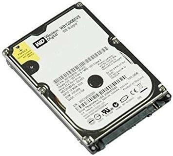 "hdd hard disk laptop Western Digital Scorpio Blue WD1200BEVS 120GB SATA 2 3 2.5"""