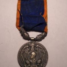 Medalie Regele Carol I Avantul Tarii 1913