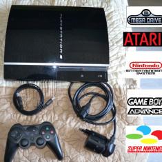 PS3 PlayStation 3 Sony modat cu jocuri PS3, PS2 + retro (7000+) console bundle