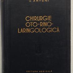V. Arteni - Chirurgie Oto-Rino-Laringologica  655 pagini