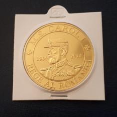 Medalie Regele Carol I - Regina Elisabeta