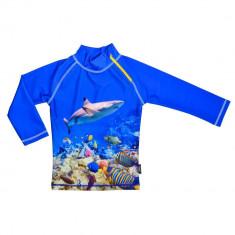 Tricou de Coral Reef marimea 110- 116 protectie UV Swimpy, Baieti