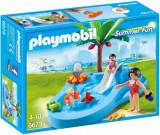 Piscina pentru copii cu tobogan, Playmobil