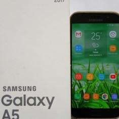 Samsung a 5 2017 - Telefon Samsung, Negru, Neblocat, Single SIM