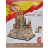 Puzzle 3D Sagrada Familia, cubic fun