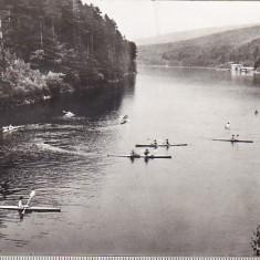 Bnk cp Valiug - Lacul de acumulare - circulata - Carte Postala Banat dupa 1918, Printata