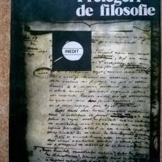 Titu Maiorescu - Prelegeri de filosofie - Carte Filosofie