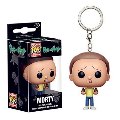 Figurina tip breloc Funko Pop Rick and Morty - Morty foto