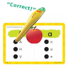 Carduri cu litere Junior Hot Dots Educational Insights