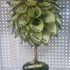 Copacel cu bani - Copac cu bani - Cadou copac cu bani