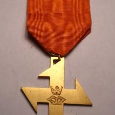 Crucea Regina Maria Piesa de Colectie Superba - Ordin