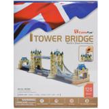Puzzle 3D Tower Bridge, cubic fun