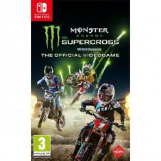 Monster Energy Supercross Videogame Nintendo Switch PS4