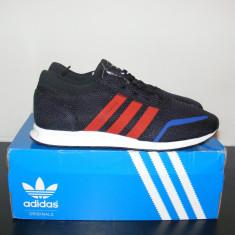 Adidasi Adidas Los Angeles Trainers Core Black/Red/White nr. 41 1/3 - Adidasi barbati, Culoare: Din imagine, Textil