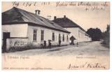 Hunedoara, Hateg, Pui - Udvozlet Puj-rol 1904, Circulata, Printata