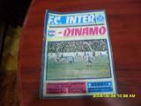 program        Inter  Sibiu   -  Dinamo