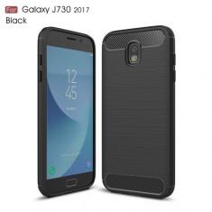 Husa Samsung Galaxy J7 2017 - Carbon Brushed Black