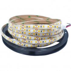 Banda LED 2835 Alb Cald 12V, 120 LED/m, IP65 (WP), cod:10105652