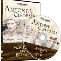 Momente din istorie- Antoniu si Cleopatra, DVD, Romana, discovery channel