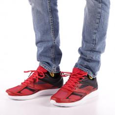 Pantofi sport barbati Dorin negru cu rosu
