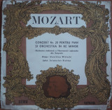 Mozart Concert nr. 20 pentru pian și orchestră în Re Minor, VINIL, electrecord