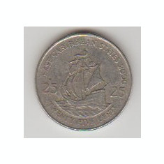 East Caribbean States 2000 - 25 Cents