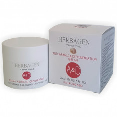 Crema antirid si depigmentare cu extract de melc A&D