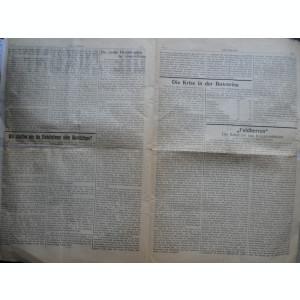 Die Zukunft , Viitorul , ziar al oamenilor muncii , Cernauti , an 1 , nr. 1 si 2