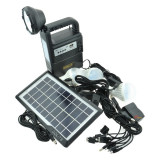 Kit solar panou fotovoltaic camping/drumetii Gdlite GD-8133, 3 becuri