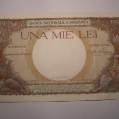 1000 lei 1938 XF + - Bancnota romaneasca
