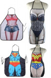 Sort de bucatarie / Wonder Woman /  Hot pants, Marime universala, Alb