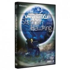 Povestea a tot ce exista sau istoria Universului-Stephen Hawking, DVD, Romana, discovery channel