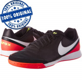 Pantofi sport Nike TiempoX Genio 2 pentru barbati - adidasi originali, 40, 40.5, Negru