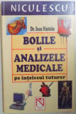 BOLILE SI ANALIZELE MEDICALE PE INTELESUL TUTUROR de IOAN NASTOIU , 2004