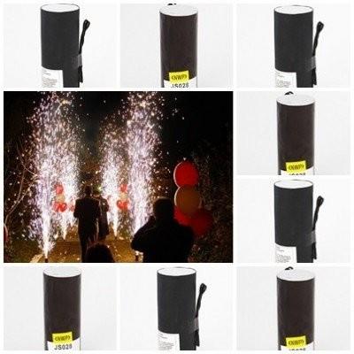 Set 10 vulcani/artificii wireless pentru lansat la nunti,botezuri,evenimente . foto