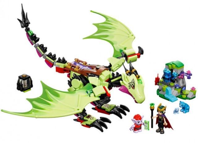 Dragonul malefic al regelui Goblin LEGO Elves (41183) foto mare