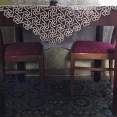 Masă dreptunghiulară, extensibilă pentru 6 persoane 100 x 75 x 80 cm - Masa living