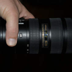 Obiectiv AF-S NIKKOR 70-200 mm, 1:2, 8 GH 2 ED - Parasolar Obiectiv Foto Nikon