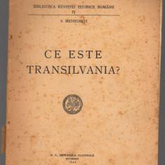 (C8049) CE ESTE TRANSILVANIA DE S. MEHEDINTI - Carte Istorie