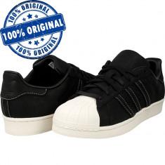 Pantofi sport Adidas Originals Superstar RT pentru femei - adidasi originali - Adidasi dama, Culoare: Negru, Marime: 38, Piele intoarsa