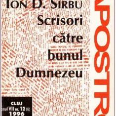 Scrisori catre bunul Dumnezeu - Autor(i): Ion D. Sirbu - Almanah
