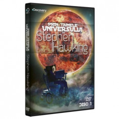 Prin tainele universului-Extraterestrii/Calatoria in timp-Stephen Hawking, DVD, Romana, discovery channel