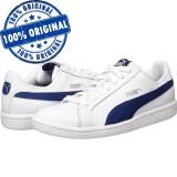 Pantofi sport Puma Smash pentru femei - piele naturala - adidasi originali, 37, 38.5, 39, 40.5, Alb