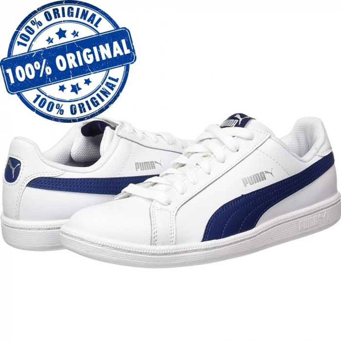 Pantofi sport Puma Smash pentru femei - piele naturala - adidasi originali