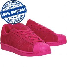 Pantofi sport Adidas Originals Superstar RT pentru femei - adidasi originali - Adidasi dama, Culoare: Roz, Marime: 38, 36 2/3, 37 1/3, 38 2/3, Piele intoarsa