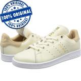 Pantofi sport Adidas Originals Stan Smith pentru barbati - adidasi originali, 44, Piele naturala