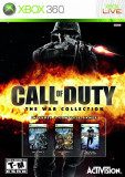 Call of Duty - The war collection - 2 + 3 + WW - XBOX 360 [Second hand], Shooting, 18+, Multiplayer