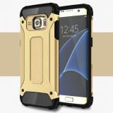Husa Samsung Galaxy S7 Edge - Hybrid Armour Gold, Gel TPU
