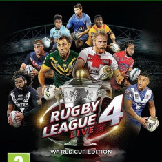 Rugby League Live 4 World Cup Edition Xbox One - Jocuri Xbox One